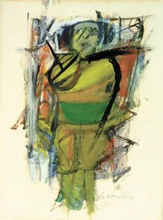 Willem de Kooning - Abstract Expressionism - Woman