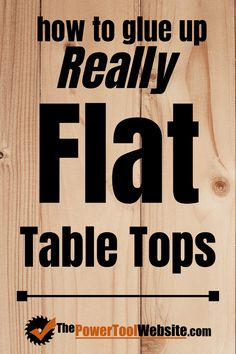 How to glue up a table top using these techniques will give you the flattest table top panels you've - Woodworking Woodworking Jigsaw, Easy Woodworking Projects, Popular Woodworking, Woodworking Techniques, Woodworking Videos, Diy Wood Projects, Woodworking Plans, Unique Woodworking, Japanese Woodworking