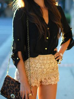 Lace shorts, if you like these look into JC Penney. I know they have some like these, and more and more stores are getting into the trend!