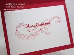 Star of Light Stamp-A-Stack VIP Card… #stampyourartout - Stampin' Up!® - Stamp Your Art Out! www.stampyourartout.com
