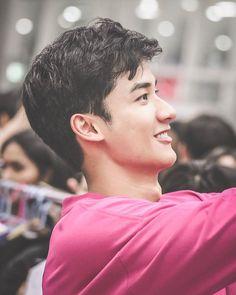 Asian Men, Asian Guys, Rei Arthur, Side Profile, Boyfriend Material, Beautiful People, Dark Blue, Thailand, Actors