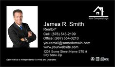 Independent Agency Business Cards for Realty Executives