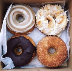 @sophievino apparently discovery coffee in james bay makes phenomenal donuts!