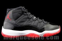 88d11634a94 Air Jordan 11 (Playoffs) #sneakers Air Jordan 11 Bred, Sneaker Games,