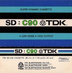 blank cassette tape insert