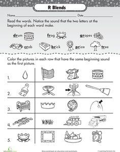 Worksheets S Blend Worksheets s blends worksheets pack consonant sounds r blends