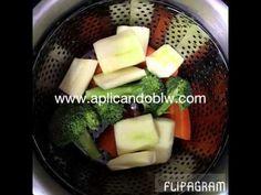 Receta de pasta salteada con verduras | Aplicando BLW