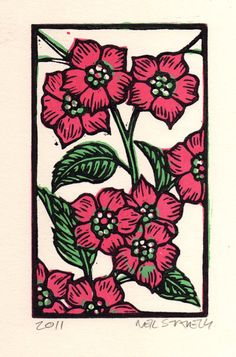 Apple Blossoms by HorseAndHare on Etsy, $15.00