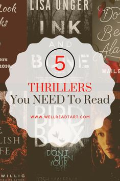 Don't miss the five exciting thrillers featured in this month's Quick Look Books! Each of these stories is filled with suspense, mystery, and drama to keep you on the edge of your seat until the very end. #bookreview #bookrecommendation #quicklookbooks #awellreadtart #bookblog #amreading #bookblogger #thrillers #suspense #mystery #truecrime #lisaunger #joshmalerman #laurenwillig #louisamayalcott #mailemeloy