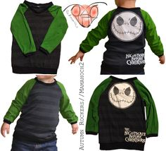 """""""Autumn Rockers"""" von Mamahoch2 in Gr. 98. Upcycle aus zwei alten Shirts. Link zum Ebook auf der Pinnwand """"Patterns I used/benutzte Schnittmuster"""""""