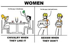 Chivalry vs sexism