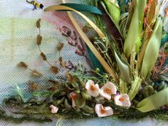picture Lavanda Silk ribbon embroidery by SilkRibbonembroidery