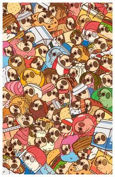 our web site for even more information on Pugs. It is an excellent location for more information.See our web site for even more information on Pugs. It is an excellent location for more information. Cute Animal Drawings, Kawaii Drawings, Cute Drawings, Pug Wallpaper, Pattern Wallpaper, Pug Illustration, Pug Cartoon, Art Kawaii, Pug Art
