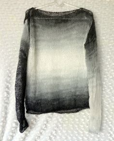 Women Sweater Grunge Sweater with Long Sleeves in by MyAqua, $45.00
