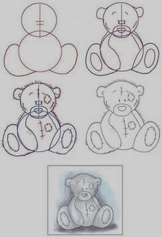 Easy Step by Step Art Drawings to Practice (22)