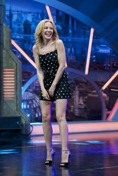 Kylie Minogue - El Hormiguero Show in Madrid, Spain - September 1, 2014