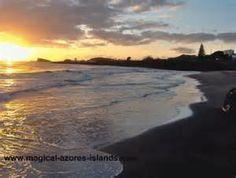 mar de Sao Miguel...the beautiful sunset of the beach...