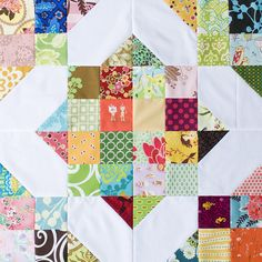 Great block for small scraps.