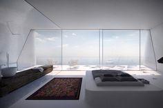 Modern Villa F 7 Fantastic Villa F in Greece Inspired By Geometry