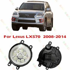 Nice Lexus: 26.40$  Know more  - Car styling LED Fog LIGHT Lights  For Lexus LX570  2008/09/...  Make shopping cheaper ☎