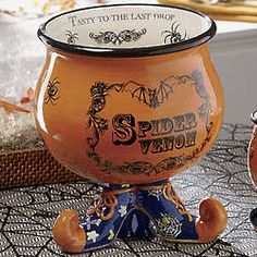 from The Country Door - Cauldron Punch Bowl - I have it two of these and I love them!