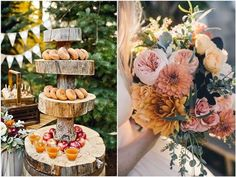 [tps_header] From photo ideas to centerpieces to cakes, get tons of inspiration for an autumn wedding. Make your wedding day romantic and earthy with these Fall Wedding Ideas. [/tps_header] Fall Wedding Centerpieces ...