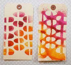 Art Journal | How to Make Your Own Stencils: via Julie Fei Fen Balzer