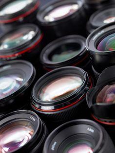Lens crowd   free stock image