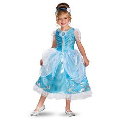 Disney Cinderella Deluxe Sparkle Costume - Halloween - Holiday & Seasonal | Tv's Toy Box