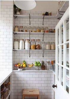 Shut the refrigerator door because larders are back. Larders were traditionally used to keep foodstuffs fresher for longer but as suburban homes filled with trendy white goods in the 50s and 60s, larders (or pantries or cold rooms) were resolutely … Continued