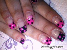 polka dots by NailsAtJessies - Nail Art Gallery nailartgallery.nailsmag.com by Nails Magazine www.nailsmag.com #nailart