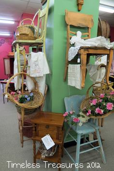 Timeless Treasures: fun fantastic fabulous FINDS.NEW Thrift Store Decorating Ideas 'item grouping'