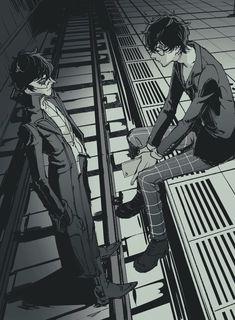 Persona 5 Anime, Persona 5 Joker, Persona 4, Manga Anime, Anime Guys, Anime Art, Sea Wallpaper, Ren Amamiya, Shin Megami Tensei Persona