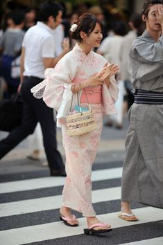 More Gorgeous Yukata Examples – Harajuku  (((>> Please feel free to repin.