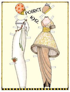 paper doll 2 of 3 http://www.pinterest.com/mcgihon/articulated-paper-dolls-set-2/