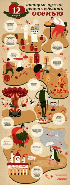 Способ прорекламировать себя и, одновременно, принести пользу. #инфографика