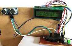 In this article we will learn how ultrasonic sensor works and how to interface with microcontroller to measure the distance and display it on the LCD screen. Pic Microcontroller, Diy Electronics, Arduino, Circuit, Distance, Blue Prints, Long Distance