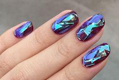 Nagel-Trend: Shattered Glass Nails