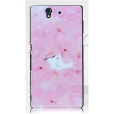 Gview Black Border Rose Cats Painting Series PC Hard Case For Sony Xperia Z