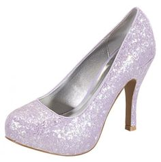 d070e56f866 Sparkly high heels Silver Shoes Heels