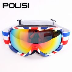 women's ski goggles double layer