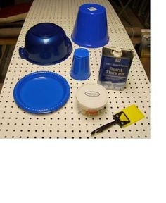 Deer Fly Traps  They are attracted to blue, duct tape or Tanglefoot.  I'm trying this!