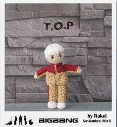 #amigurumi #bigbang, T.O.P Amigurumi Doll, Bigbang, Snoopy, Dolls, Create, People, Diy, Fictional Characters, November