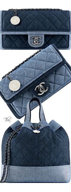 ~Chanel Denim Handbags SS 2014 | Thea - Miss Millionairess's Boutique™