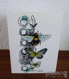 Ben dol op clean and simple - Kaarten Maken Card Making Inspiration, Art Journal Inspiration, Butterfly Cards, Flower Cards, Card Making Tutorials, Making Ideas, Art Journal Pages, Art Journals, Mixed Media Cards