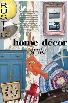 Rustic+Home+Decor+ from riagr - trendme.net