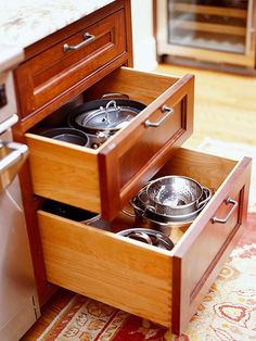 Drawers and Pullouts