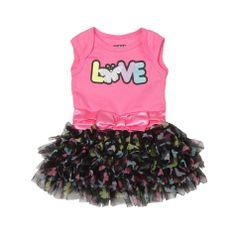 Baby Glam Newborn & Infant Girl's Satin Sash Tutu Bodysuit - Butterflies - Baby - Baby & Toddler Clothing - Dresswear