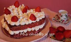 Para celebrar el #díadesanValentín que organiza Noemi, del blog todocooking.com, os he preparado una tarta muy especial en forma de corazón. Al pensar en la idea de una receta para el día de los en...