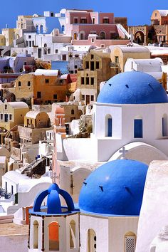 Santorini, Greece. in. love. sisterhood of the traveling pants kind of made this a must ;)